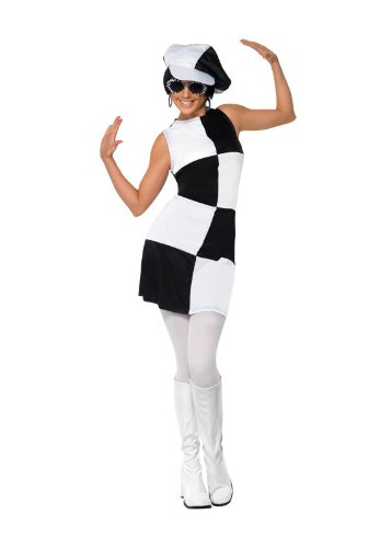 60's adult Party girl costume. Smiffys 21142