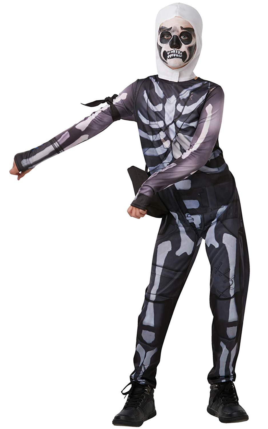 Fortnite Skull trooper skins gaming costume 300194