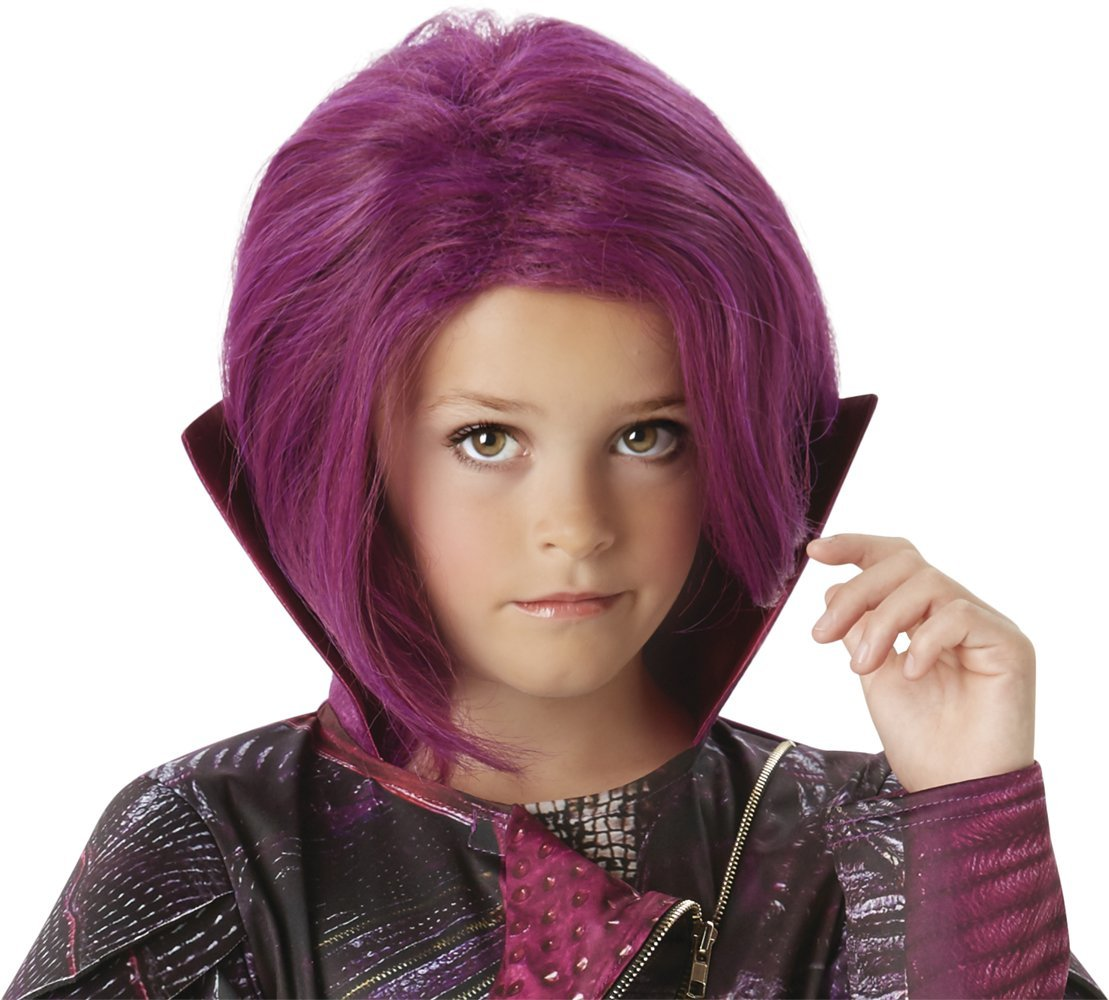 Child Mal wig Disney Descendants 32533