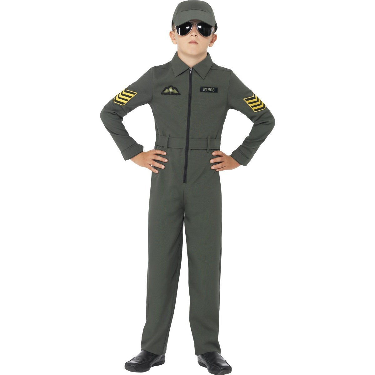 Aviator costume boys 41091