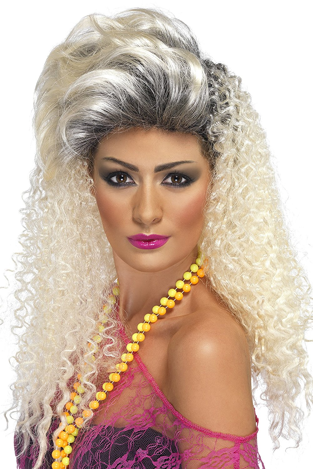80's bottle blonde wig Smiffys 42022