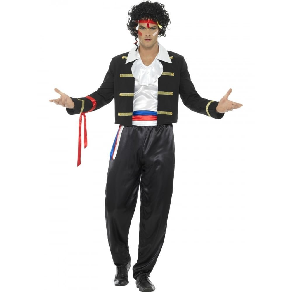 80's New Romantic adult male costume.44751 smiffys