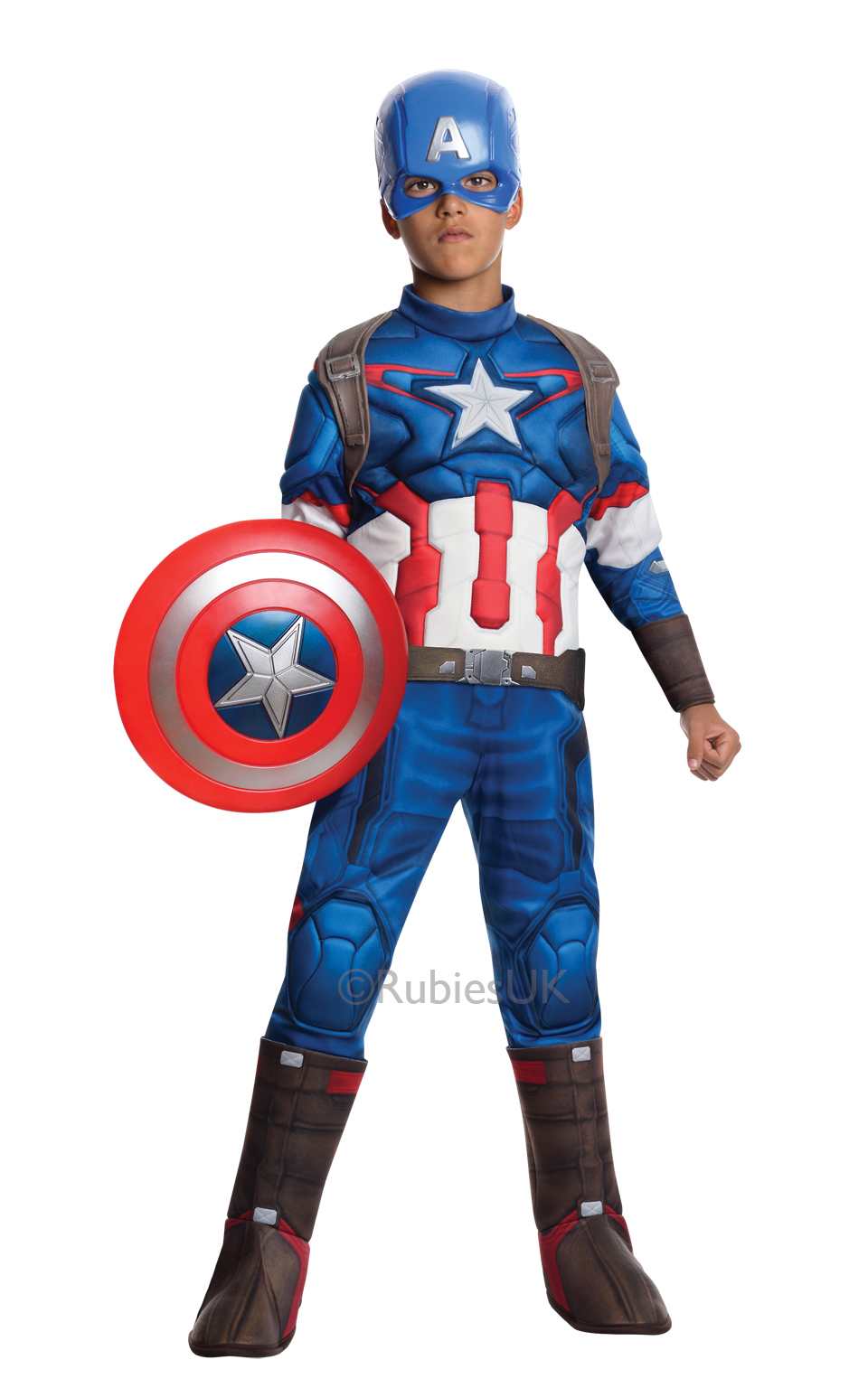 Child Captain America deluxe 610425