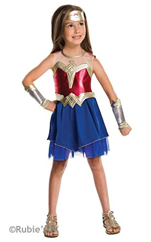 Wonder woman Dawn of Justice x-large 9-10 years 62  sc 1 st  The Fancy Dress Factory & Fancy Dress Factory.... Girls Superhero costumes