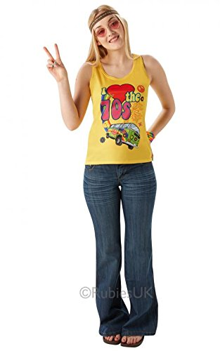 I love the 70's vest top 810678