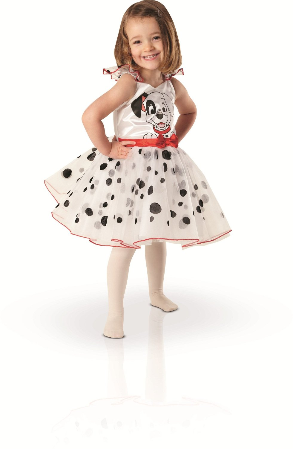 Disney's 101 dalmations dress toddler 2-3 years. 8