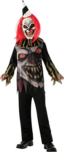 Freako scary clown costume 881649