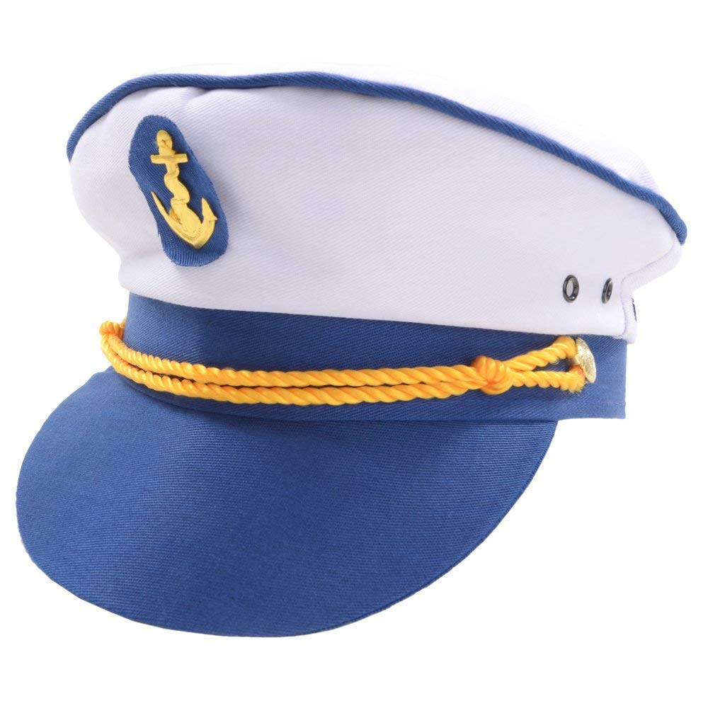 White captains hat ac9123 Wicked