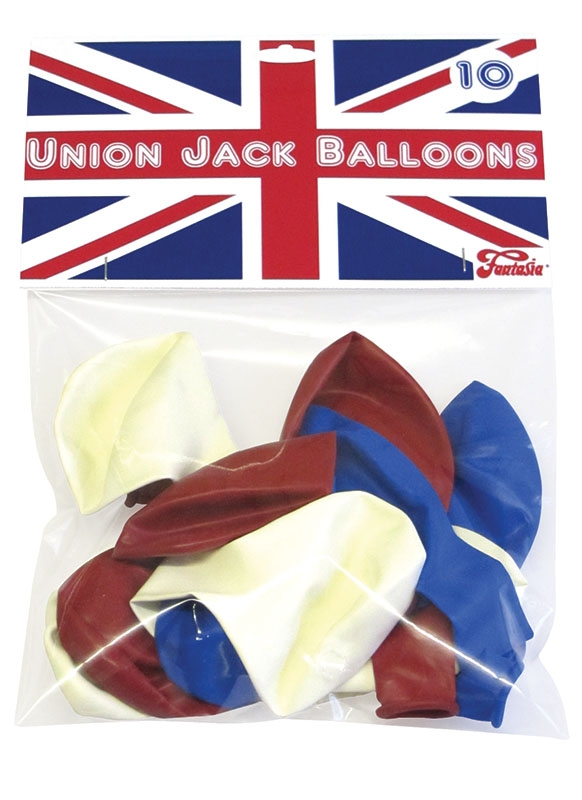 Balloons red, white and blue NB003
