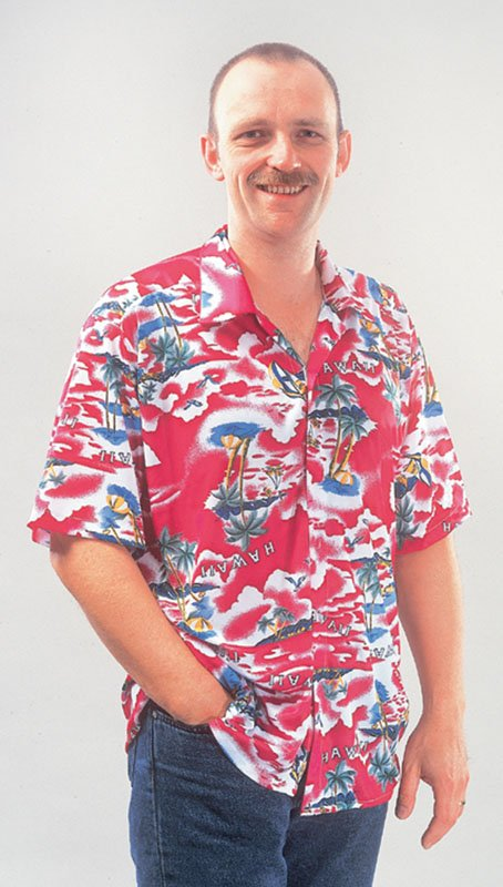 Beach bum shirt AC234 (Hawaiian)