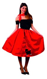 Adult Bopper AC592 (poodle skirt and top)