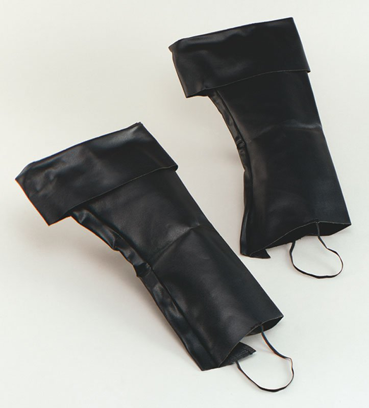 Black boot tops BA016