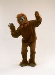Fleece werewolf costume AC135