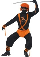 Ginger Ninja Super Hero Costume ef-24058M