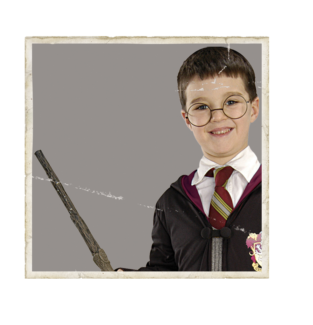 Harry Potter glasses and wand set 5374