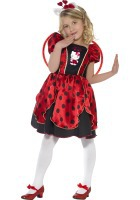 Hello Kitty Lady Bug Fairy Costume ef-37238S