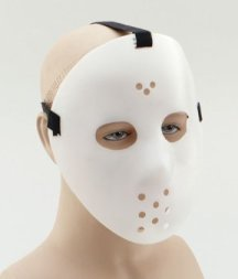 PMO68 White hockey mask