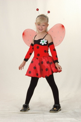 Lady bug kids costume CC671