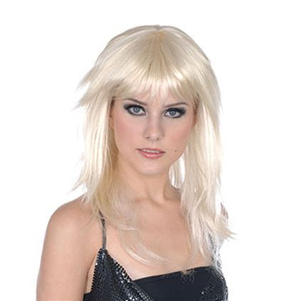 Blonde layered wig BW729