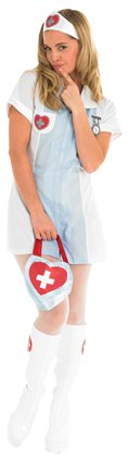 Nurse Blue/white costume 889503 medium