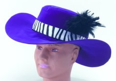 Purple pimp hat BH252