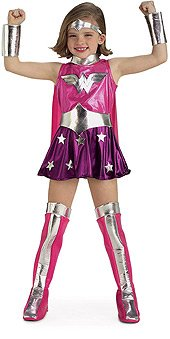 Wonderwoman pink kids 882752