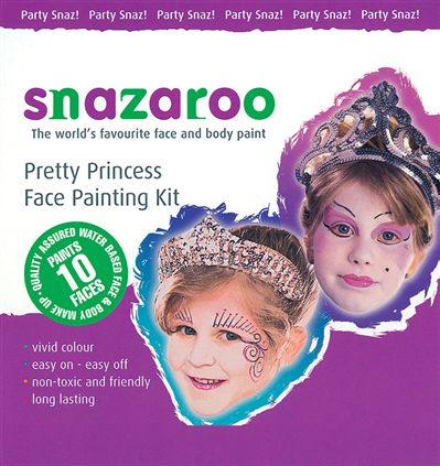 Princess theme pack snazaroo MU203