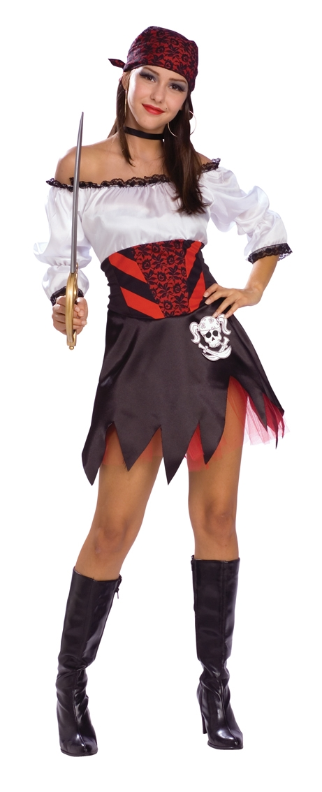 Punky Pirate costume adult 888381