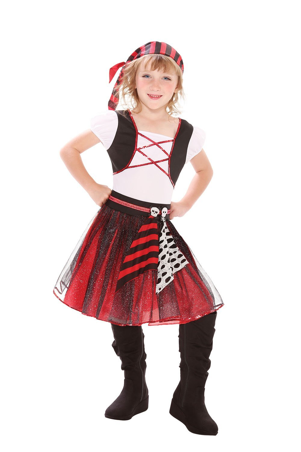 Punky pirate costume kids cc295/6  sc 1 st  Fancy Dress Factory & Fancy Dress Factory.... Girls: Other Costumes
