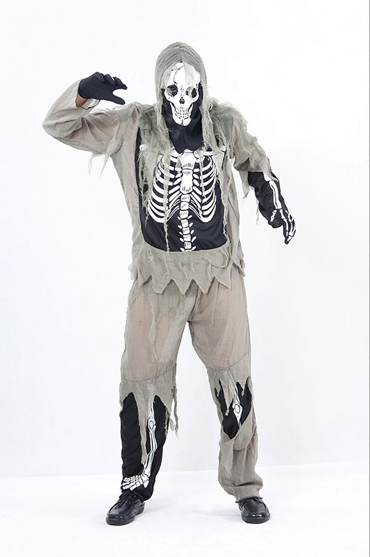 Skeleton zombie adult AC960