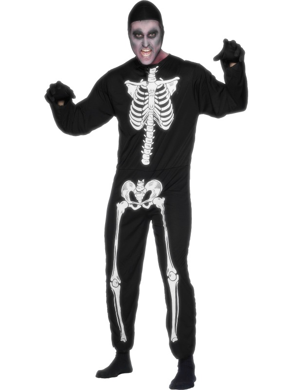 Skeleton Costume ef-23032L (smiffys)