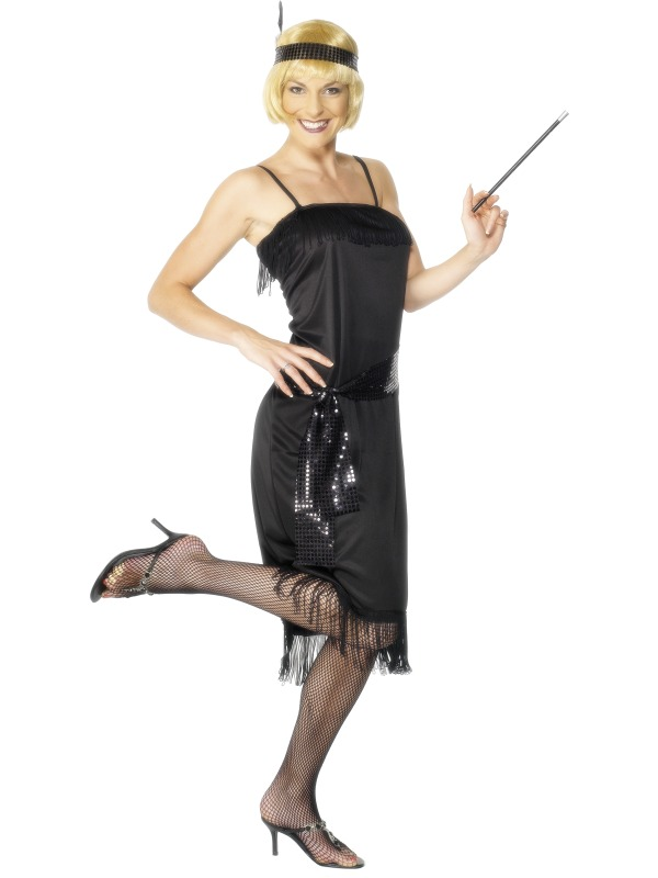 Flapper Costume adult ef-28605S (smiffys)