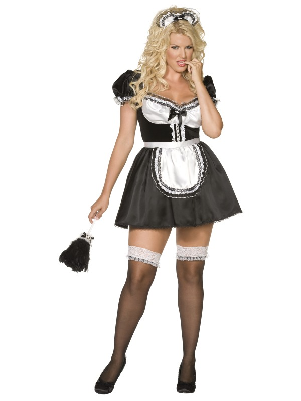 Envy Sexy French Maid Costume ef-30381 (smiffys)