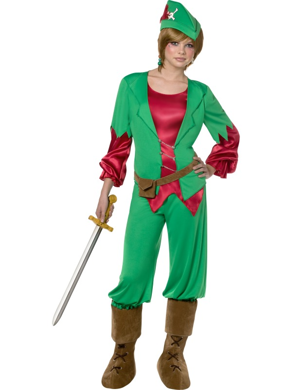 Teen Rebel Toons Peter Pan Costume ef-30639 (smiff