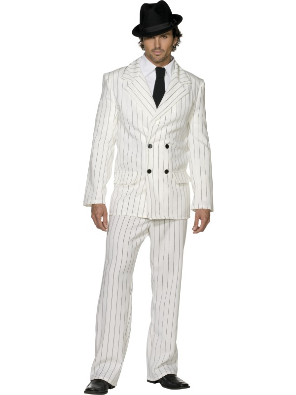 Fever Gangster Costume adult ef-31079L (smiffys)