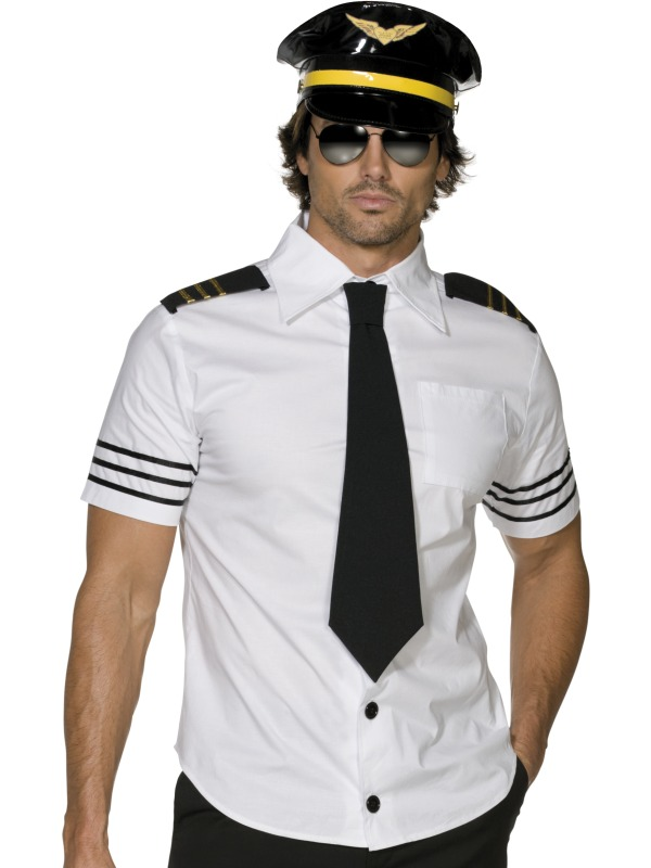Fever Mile High Pilot  Costume adult ef-31871L (sm