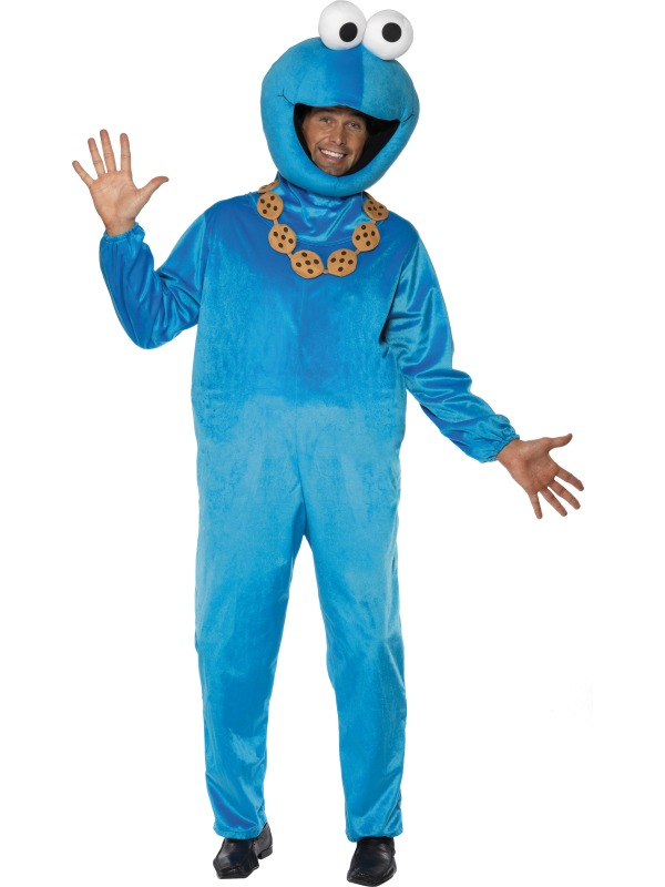 Sesame Street Cookie Monster Costume ef-32997M (sm