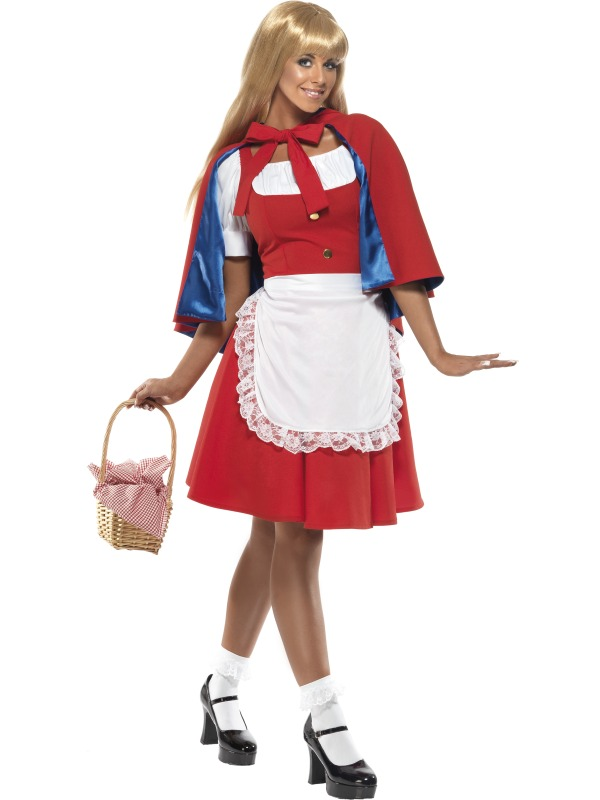 Red Riding Hood Costume adult ef-33015M (smiffys)