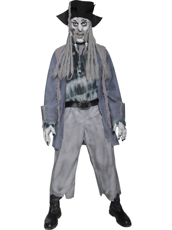 Zombie Ghost Pirate Costume ef-34118M (smiffys)