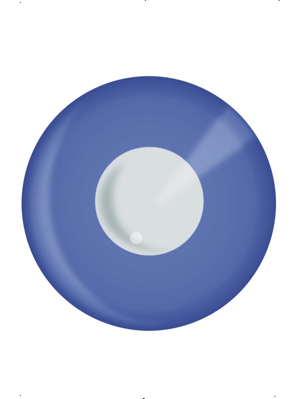UV Blue ef-34542 contact lenses