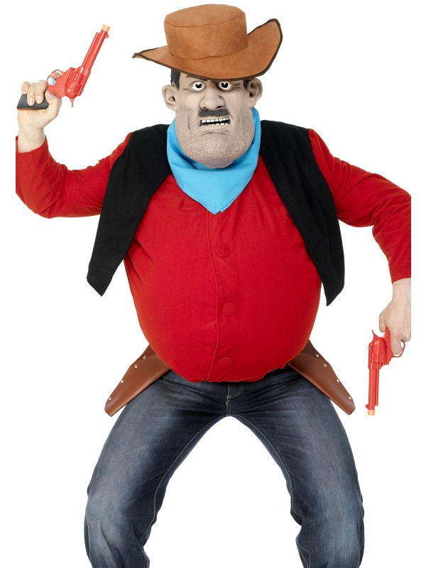Desperate Dan Water Gun ef-34668 (smiffys)