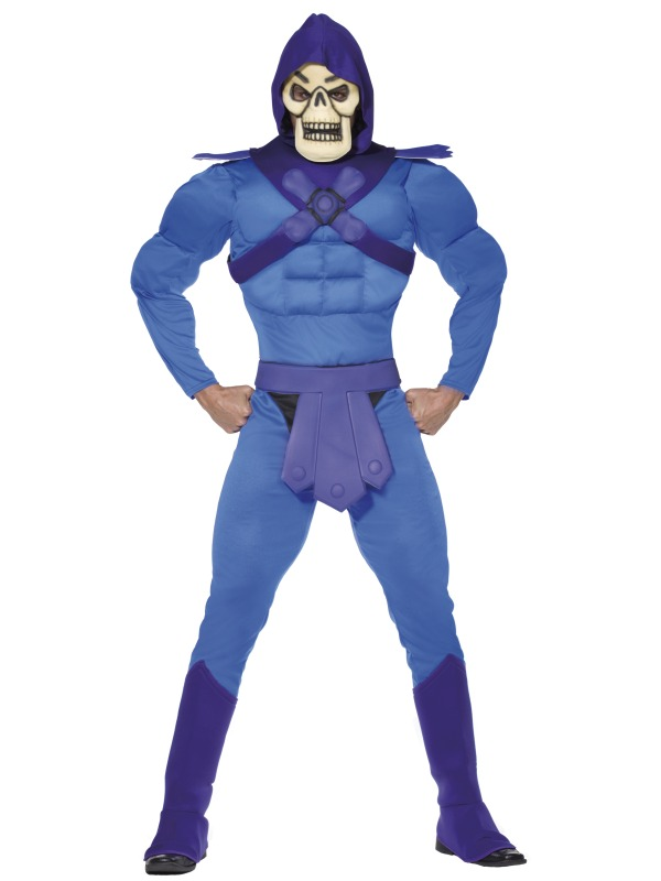 Skeletor Costume ef-34805M (smiffys)