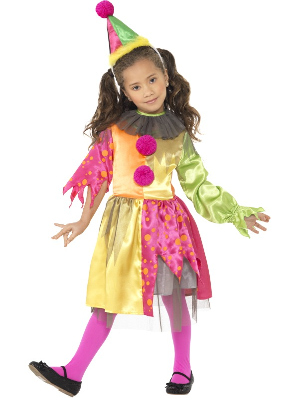 Scary Girl Clown Costume ef-35671T2