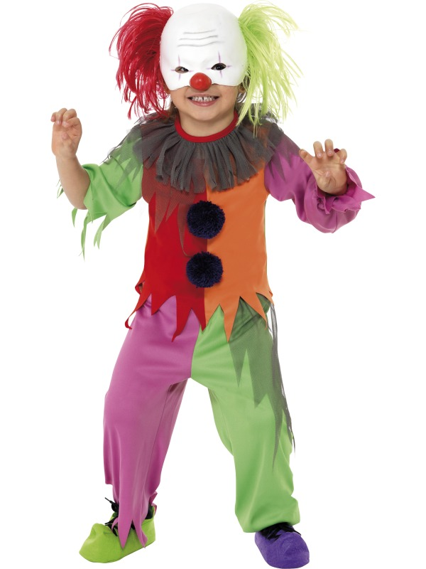 Scary Clown Boy Costume ef-35676S