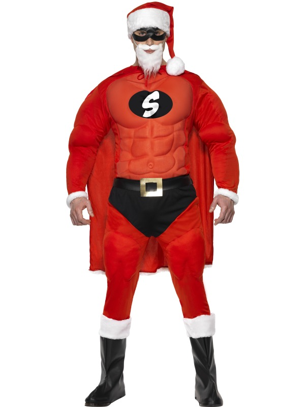 Super Fit Santa Costume ef-36214L (smiffys)