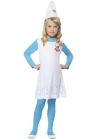 Girl Smurfette Costume, Child ef-34275L
