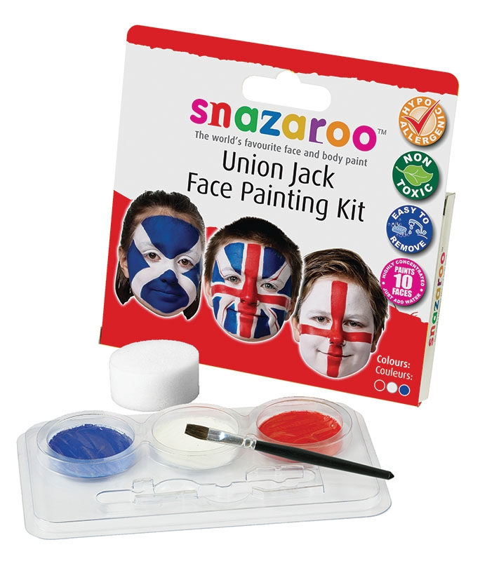 Union jack face paint MU092