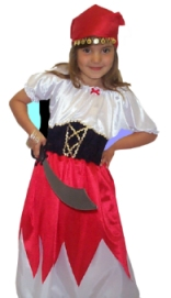 Kids Pirate girl D128