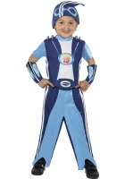 Lazy Town Sportacus Costume ef-38359M med. 7-9 yea