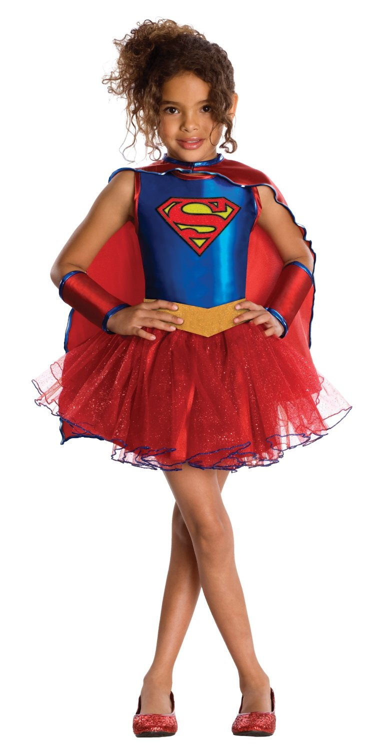 Kids Supergirl costume with tu tu skirt. 881627